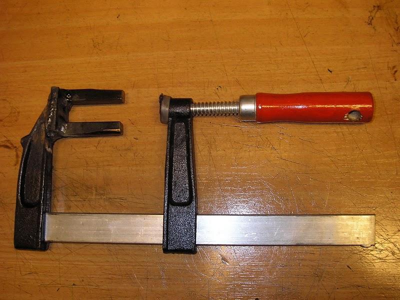 Kleppen verwijderen gereedschap